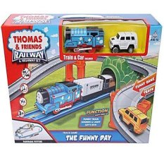 Thomas Friends Railway And Highway Set Promo Beli 1 Gratis 1