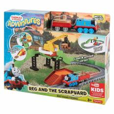 Spek Thomas Friends®™ Thomas Adventures Reg At The Scrapyard Banten