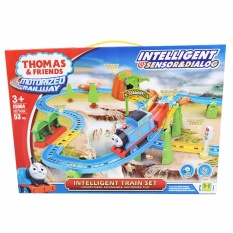 Jual Thomas And Friends Motorized Railway With Intelligent Sensor Dialog Mainan Kereta Thomas 53Pcs E5004 Snetoys Original