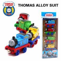 Spesifikasi Thomas Friends Metal Die Cast Set Besi Alloy Mainan Kereta Magnet Baru