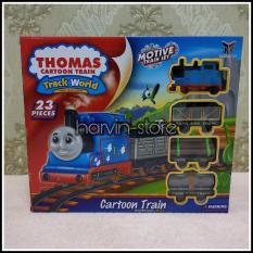 Harga Thomas Cartoon Train Track World Permainan Simulasi Kereta Api Termahal
