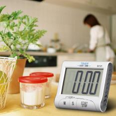Timer Masak Dapur LCD Digital Display Alarm - White