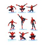 Jual Tingbel Action Figure Spiderman 1 Set 9 Aksi Indonesia Murah