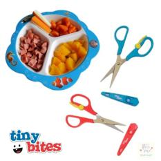 Jual Tiny Bites Food Shears Guning Makanan Anak Bayi Baby Food Scissors Online