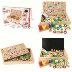 Jual Tme Donuts Number Crunching Puzzle Tme
