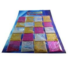TME Paket Glitter Multicolor - 20 pack