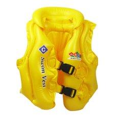 Tmo Rompi Pelampung Renang Swim Vest C Kuning Asli
