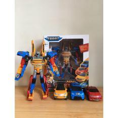 Hexatoys.id Tobot Tritan Mini XYZ 3 Cars