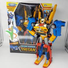 Tobot Tritan Orange Ukuran Besar Tinggi Robot 37cm Mainan Anak