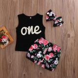 Ulasan Toddler Infant Kids Baby Girls Outfits Clothes T Shirt Tops Dress Pants 3Pcs Set Intl