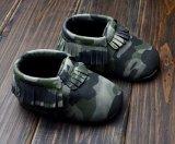 Jual Balita Baru Lahir Soft Sole Slip On Army Hijau Solid Sepatu Bayi Boys Girls Rumbai Sepatu S1203 Murah