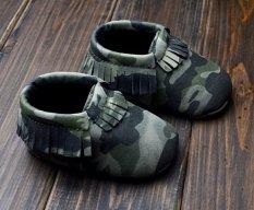 Harga Balita Baru Lahir Soft Sole Slip On Army Hijau Solid Sepatu Bayi Boys Girls Rumbai Sepatu S1203