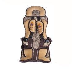 Jual Tokomuda Portable Baby Children Safety Car Seat Protector 3 12 Years Old Cokelat Murah