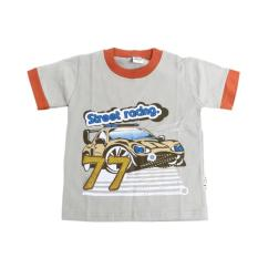 Homedepot Tom Pege Baju Kaos Anak Street Racing 77 Brown 96104