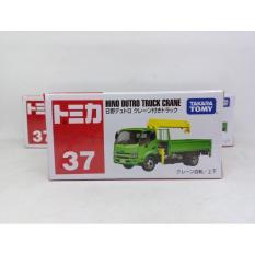 Tomica No 37 Hino Dutro Truck Crane Diecast Takara Tomy