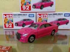 Tomica No 92 Diecast Miniatur Mobil Toyota CROWN ATHLETE Harga Murah