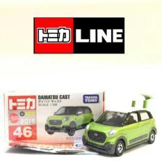 Tomica Reguler 046 - Daihatsu Cast Hijau - 967B36 - Original Asli