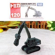 Tomica Reguler 120 Excavator Grapple Spec (Non Sticker 2017) - 3Da956 - Original Asli
