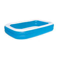 Tomindo Bestway Rectangular Pool / kolam renang anak ukuran 262.5 cm x 175 cm x 51 cm - 54006