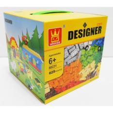 Jual Tomindo Blok Lego Wange Designer Block Isi 625 Pcs Branded