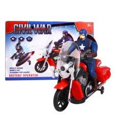 Harga Tomindo Captain America Motorcycle 2288B Yang Murah Dan Bagus