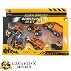 Spesifikasi Tomindo Construction Playset Isi 6 Pcs Die Cast Metal With Plastik Parts R1017 6 Tomindo