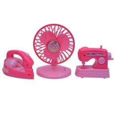 Tomindo Family Playset 3 in 1 (Iron, Fan, Sewing)