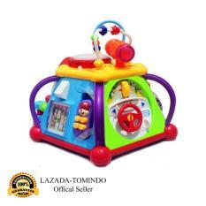 Tomindo Happy Small World Little Joy box / Mainan Anak / Mainan Musik / Musikal Drum
