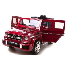 ... Tomindo Mobil Aki Mercedes Benz Jeep G63 AMG Official Licensed Merah