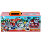 Jual Tomindo Paw Patrol Portable Storage Box The Fire Command Center Xz858 Ori