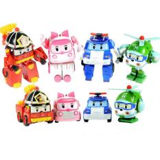 Jual Tomindo Robocar Poli 1 Set 4 Pcs Transformable Tomindo Original