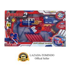 Diskon Tomindo Soft Bullet Blaster Pistol Mainan Spidey Sb287 90 Tomindo
