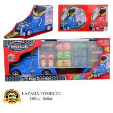 Promo Tomindo Toys Mainan Anak Alloy Truck Set Die Cast Mobil Mobilan Truk 82036 Tomindo Toys
