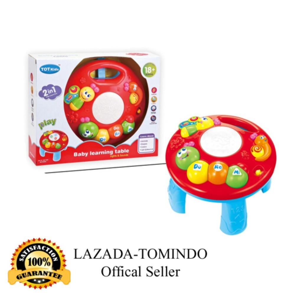 Pencari Harga Tomindo Toys Baby Learning Table Caterpillar 1096 terbaik murah - Hanya Rp129.888