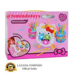 Tomindo Toys Cartoon Jazz Drum HK / Mainan Drum Musik 8310-10