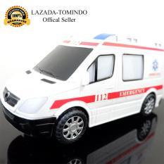 Tomindo Toys Mainan Anak City Rescue / mobil mobilan Ambulance / Ambulan - TC135