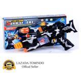 Spesifikasi Tomindo Toys Flash Sound Space Gun Pi474074 Cf957A Mainan Anak Mainan Pistol Pistolan Lengkap Dengan Harga