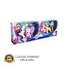 Tomindo Toys Little Pony isi 4 pcs (no.1235) / Kuda poni /