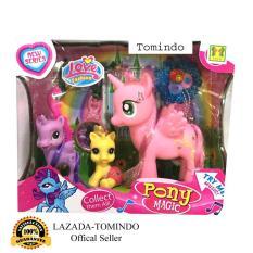 Tomindo Toys Little Pony Magic 806-5 / mainan anak / kuda poni / mainan anak perempuan