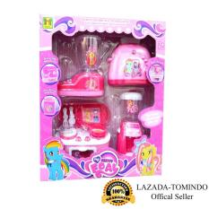Tomindo Toys Mini Kitchen Set My Pretty Foal / little pony / kuda poni / mainan anak / mainan anak perempuan / masak masakan / mainan dapur
