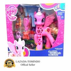Tomindo Toys My Lovely Pony / Kuda Poni Pink - 722 / Mainan Anak / Mainan Anak Perempuan / Mainan Boneka