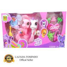 Tomindo Toys Pretty Horse LIttle Pony / Kuda Poni isi 2 pcs - 1146