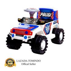 Beli Tomindo Toys Ride On Jeep Polisi Sjr 600 Mainan Anak Mobil Jeep Polisi Murah Indonesia