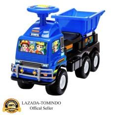 Tomindo Toys Ride On Truck Bak HT661 - Biru / mainan anak / mobil mobilan