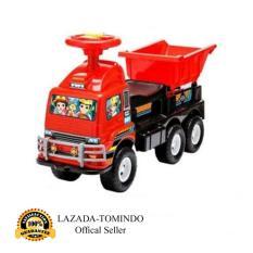 Tomindo Toys Ride On Truck Bak HT661 - Merah / mainan anak / mobil mobilan