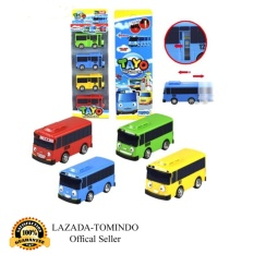 Review Tomindo Toys Tayo The Little Bus 1 Set 4 Pcs Paking Dus Pvc Pull Back Car Play Set Mainan Anak Mobil Bis Karakter Tayo Rogi Lani Gani 1004 7008 Tayo Di Jawa Barat
