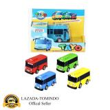 Promo Tomindo Toys Tayo The Little Bus 1 Set 4 Pcs Paking Dus Terbuka A404 333 004 Pull Back Car Play Set Mainan Anak Mobil Bis Karakter Tayo Rogi Lani Gani