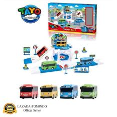 Tomindo Toys Tayo The Little Bus Parking Lot - 814 / ZY002