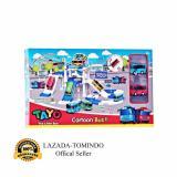 Cara Beli Tomindo Toys Tayo The Little Bus Parking Lot Zy001 Mainan Anak Mainan Set Kendaraan Mobil Mobilan