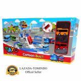 Spek Tomindo Toys Tayo The Little Bus Parking Lot Zy003 Mainan Anak Mainan Set Kendaraan Mobil Mobilan Tayo
